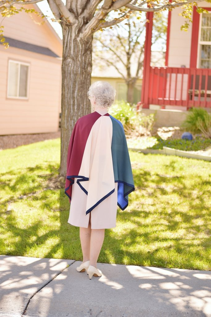 Fashion is Ageless. Showing that with a 70 year old Woman & Style