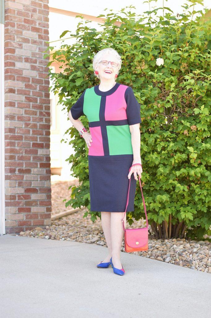 Classic vs modern dress for 70+ women