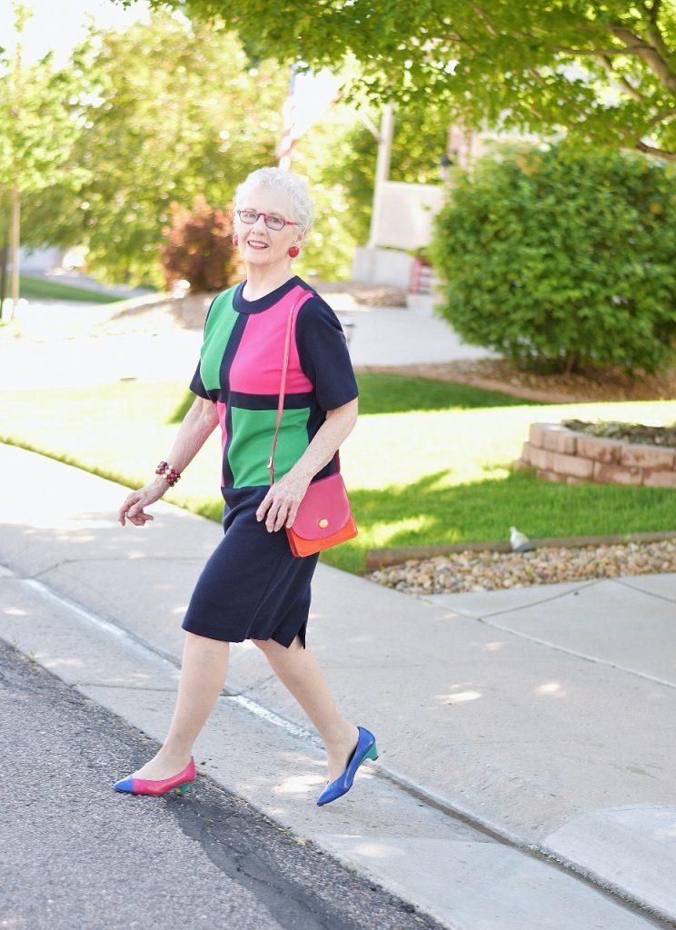 Classic vs modern dress for women over seventy