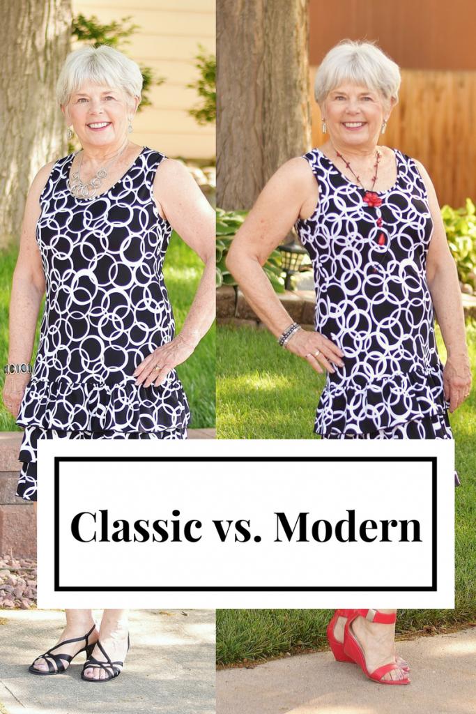Classic vs. Modern for Women over 60