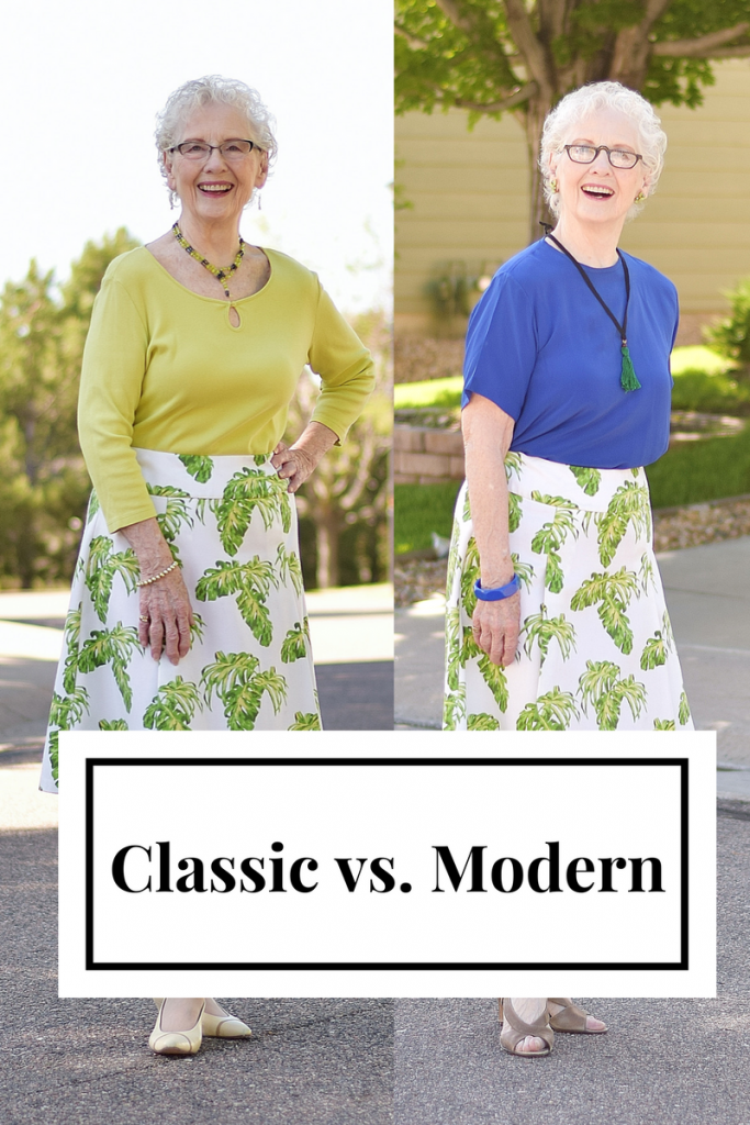 Women 70+ style from classic to modern