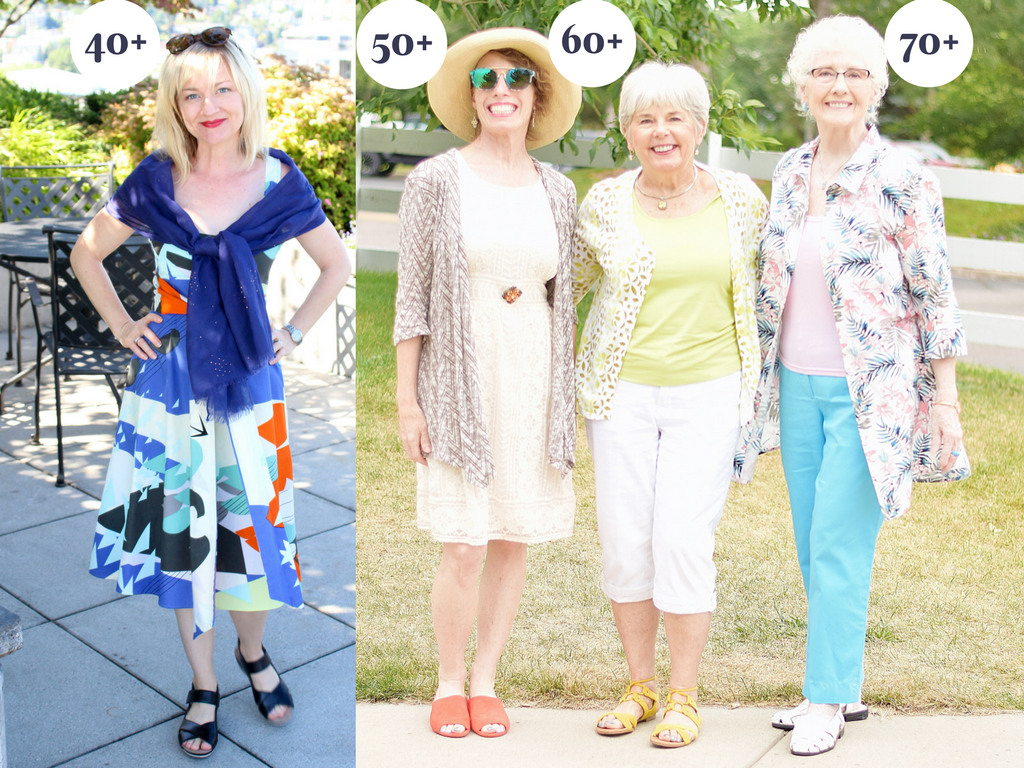 Summer Getaway Styles for 4 Generations