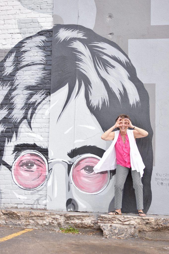 Sidewalk chalk art wear for Women