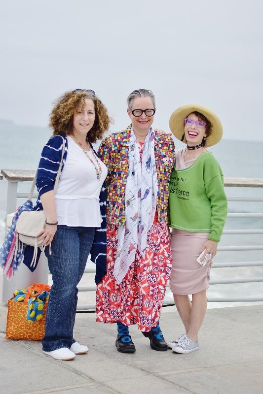 At the tide line in LA