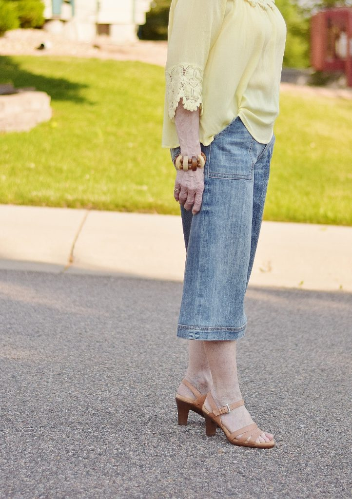 Summer shirts & jean culottes