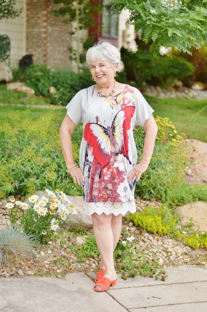 Women 60+ & dress extender