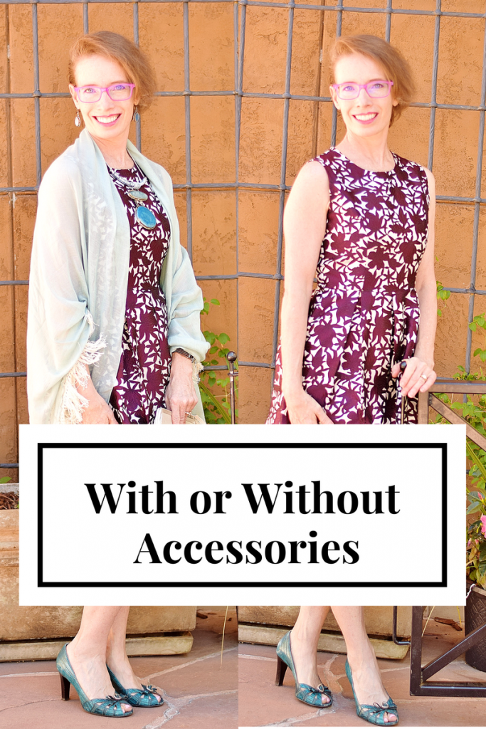Comparing wearing accessories for Women 50+