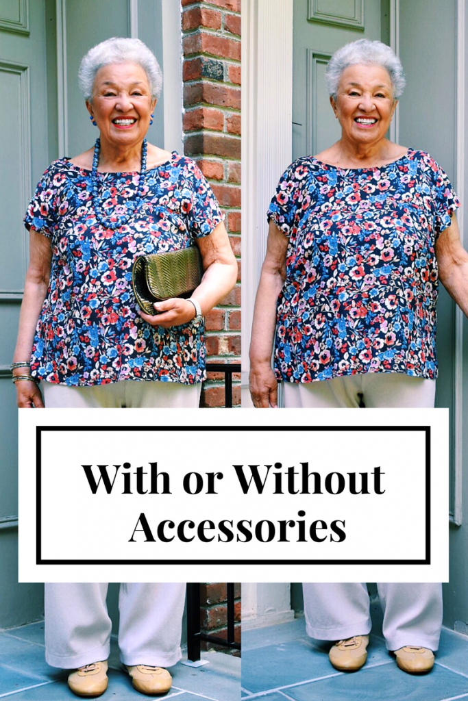 Accessories with prints for Women over 80