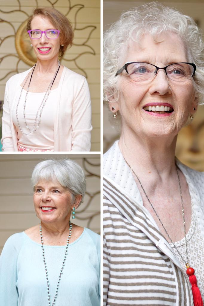 Bright Lipstick for 3 generations