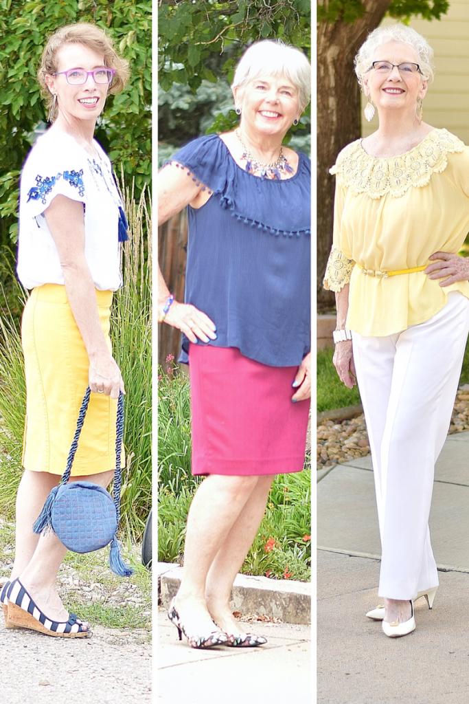 Summer Shirts worn dressed up