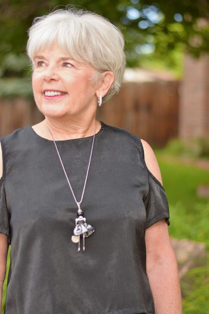 Capris for formal events for older women