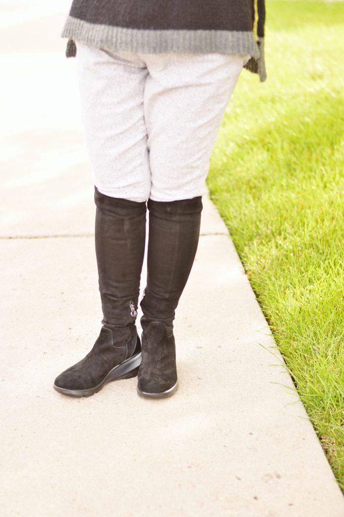 Jambu Shoes as OTK boots