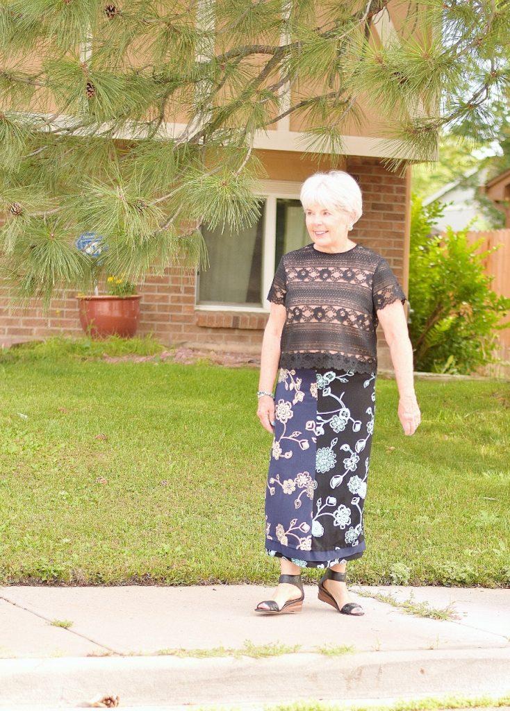 Summer skirts for women over 60
