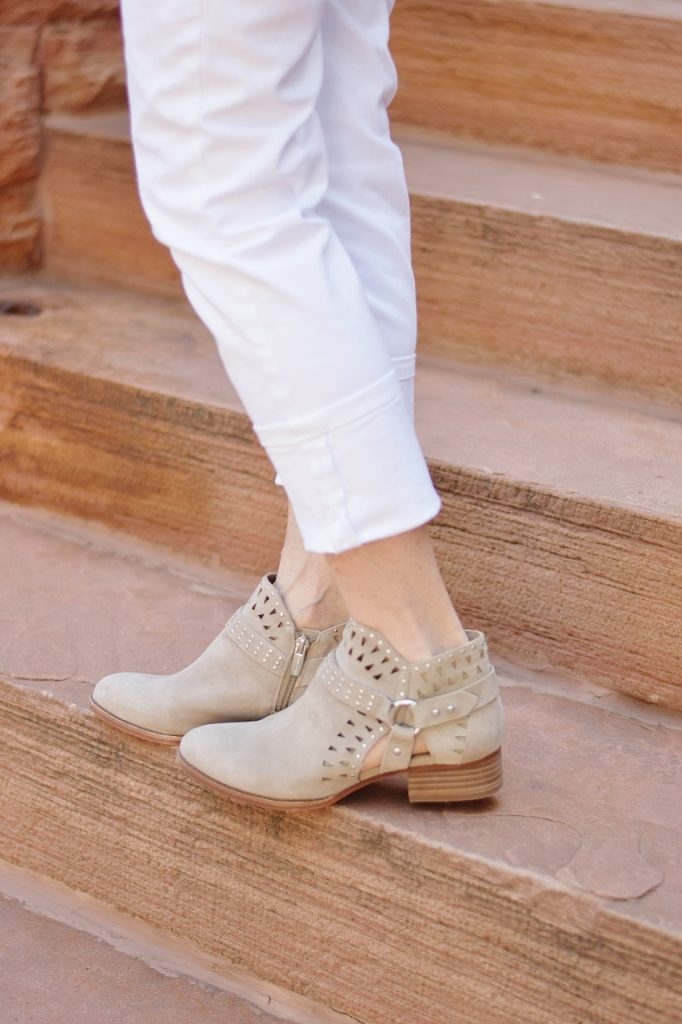 Ankle boots in your Fall Outfits for women over50