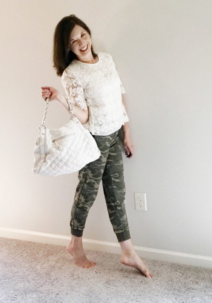Camo and lace
