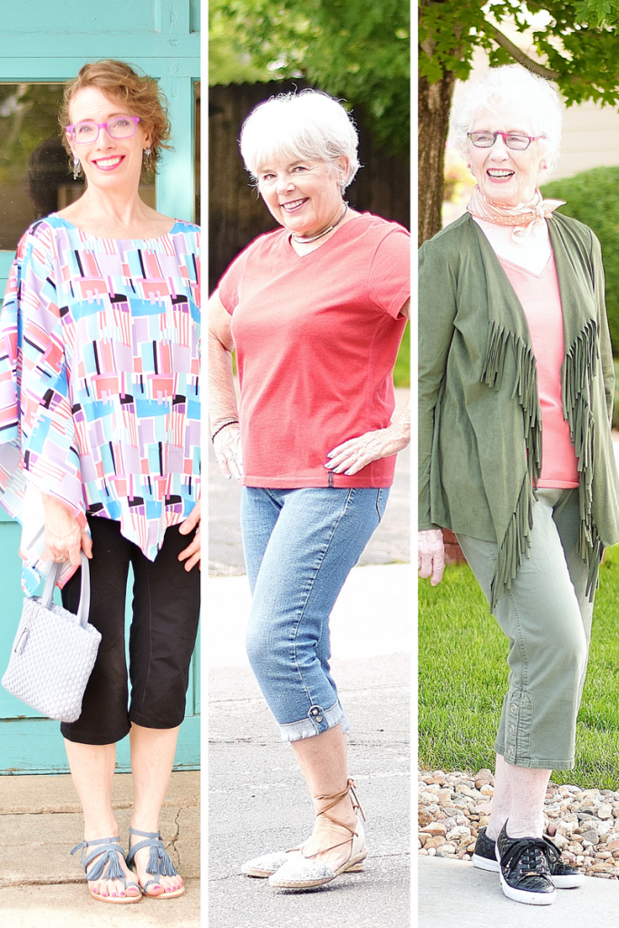 3 generations for athletic capri style