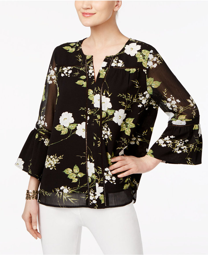Fall Trends with Flare Sleeves
