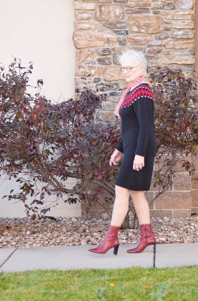 Women over 70 and sweater weather