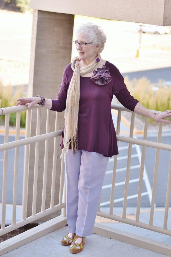 Dressy pants for senior citizens