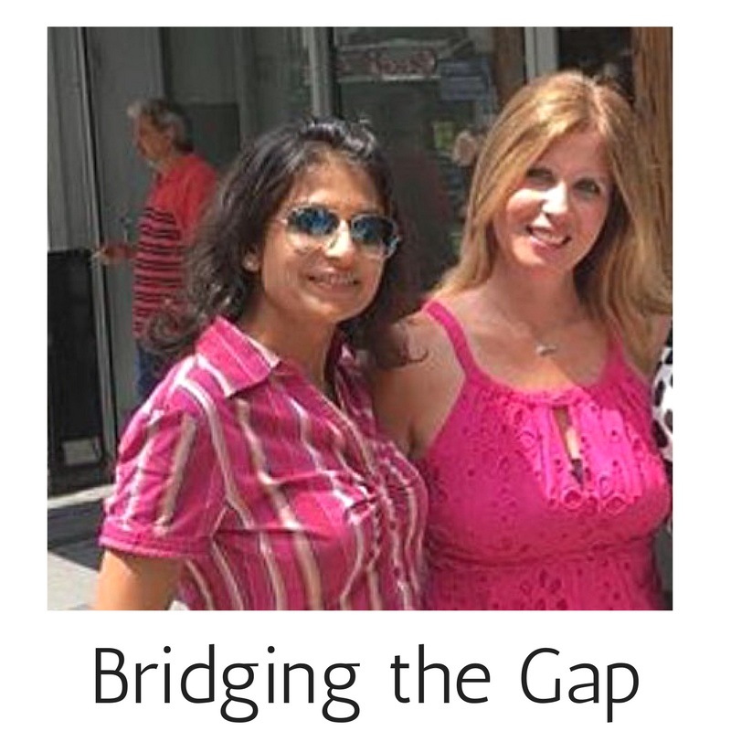 Michele and Mitali as bridging the gap partners