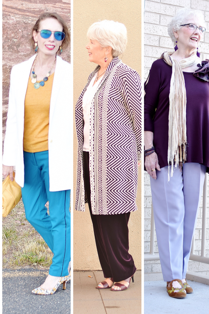 Dressy Pants for 3 Generations