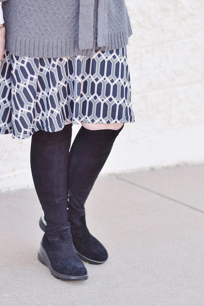 over the knee boots for warmth