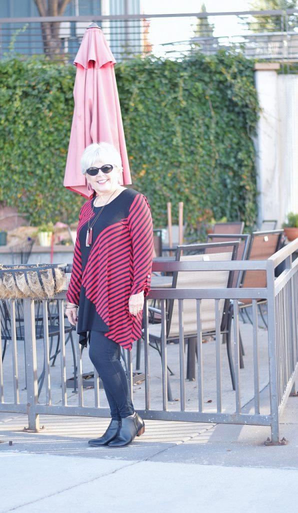 stripes for women over 60