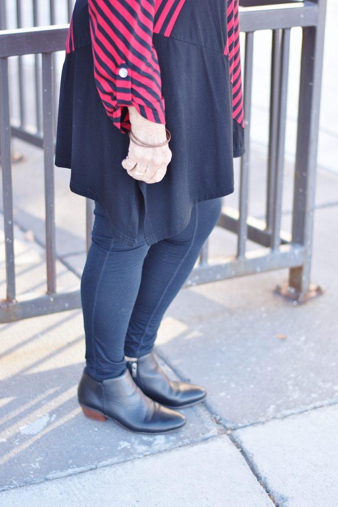 stripes worn by women 60+