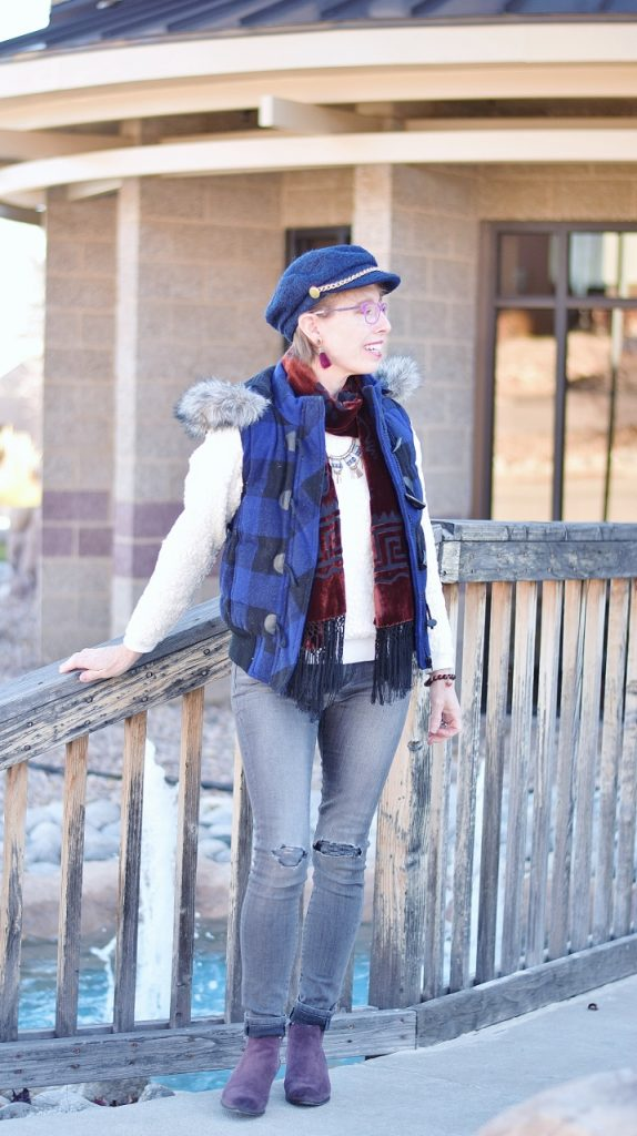 Holiday inspired looks for women 50+