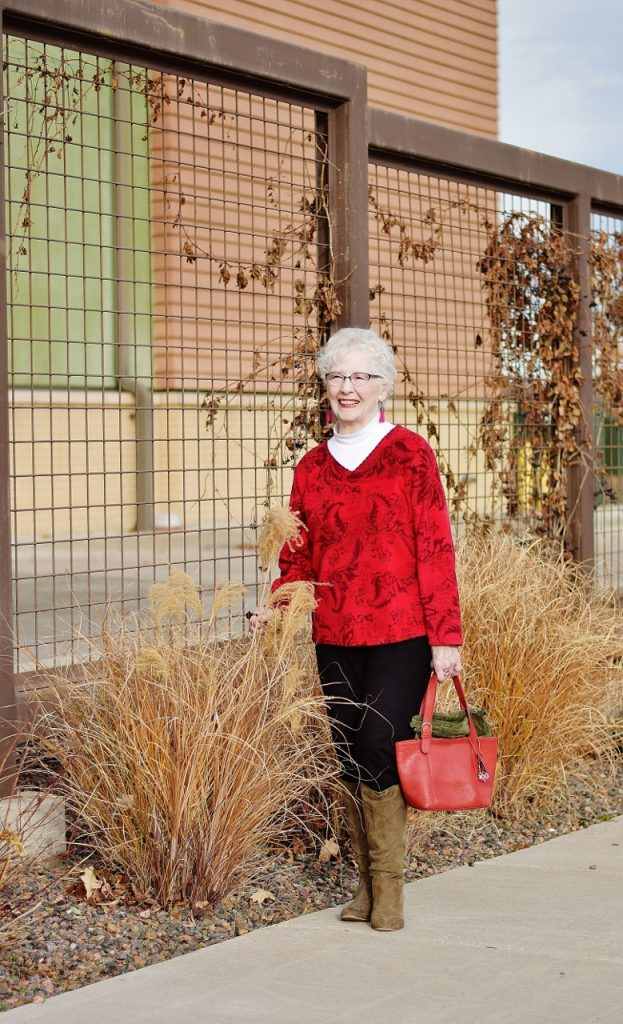 Holiday inspired looks for women 70+