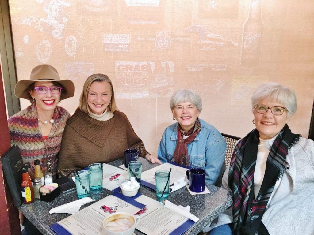 Breakfast with Quail Street Girls