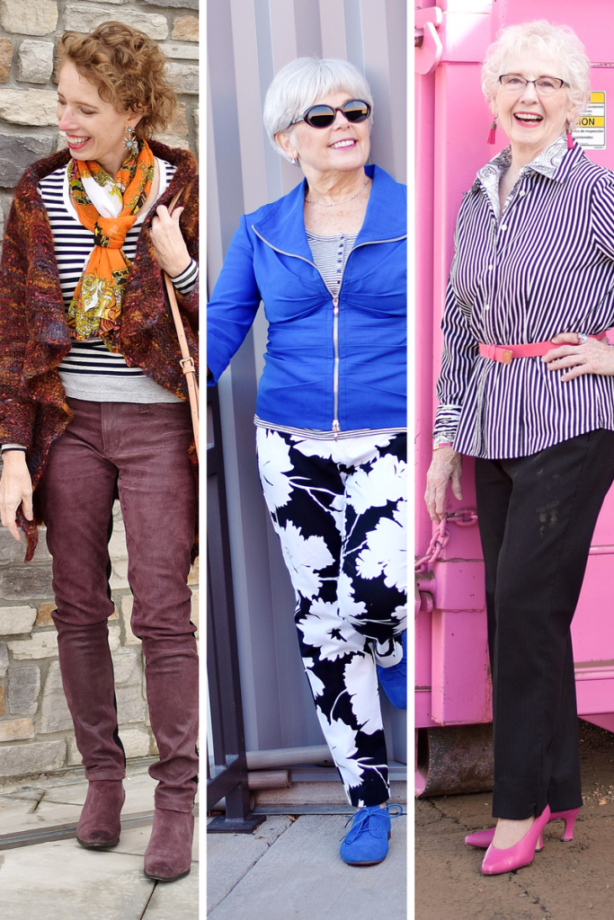 Stripes and print mixing for generations