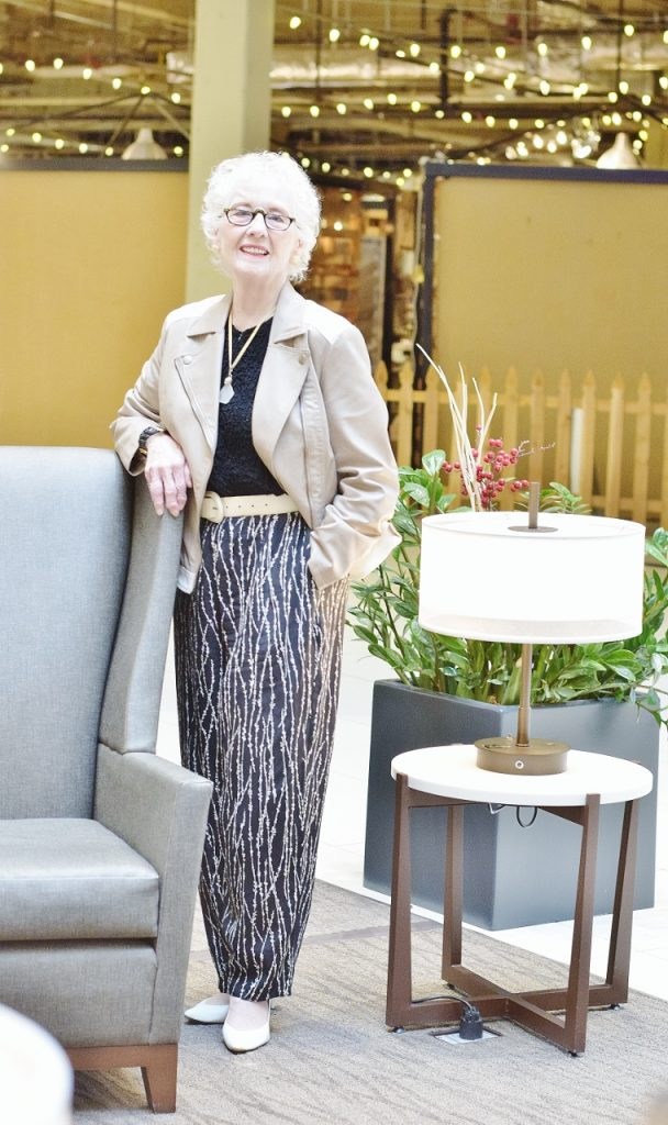Dylan Sanders style for women in their 70's