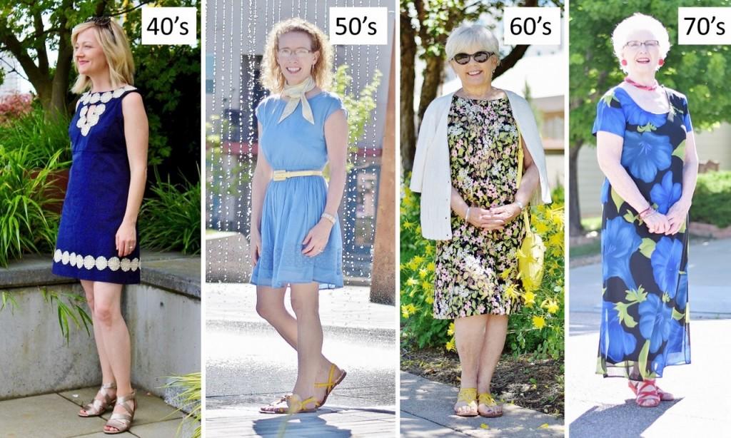Summer Sundress for 4 generations.