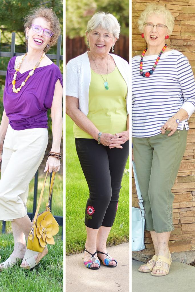Capri Pants for 3 generations
