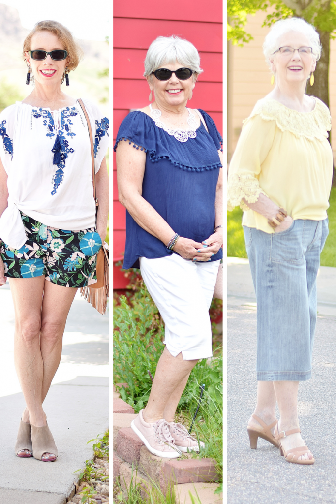 Summer Shirts for women over 50