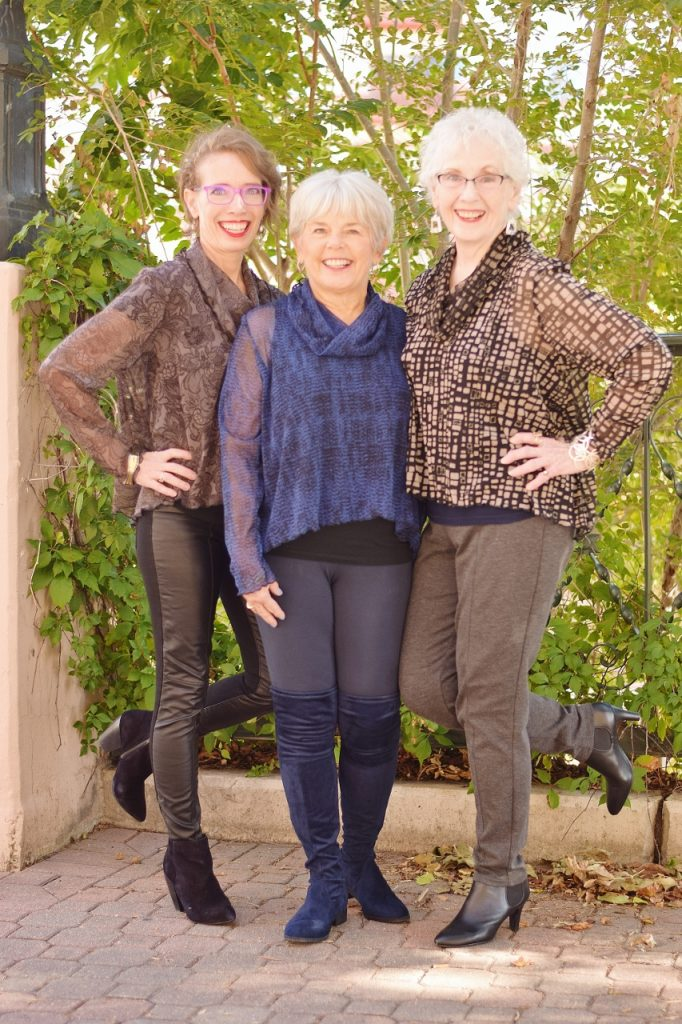 3 Generations for Brook's Tunics