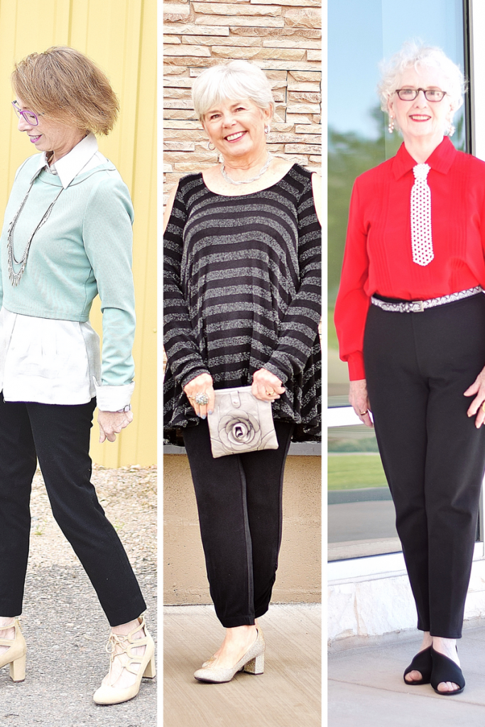 Black Pants for 3 Generations