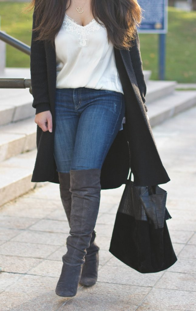 Otk Boots With Pants Or Leggings For Women Over 50
