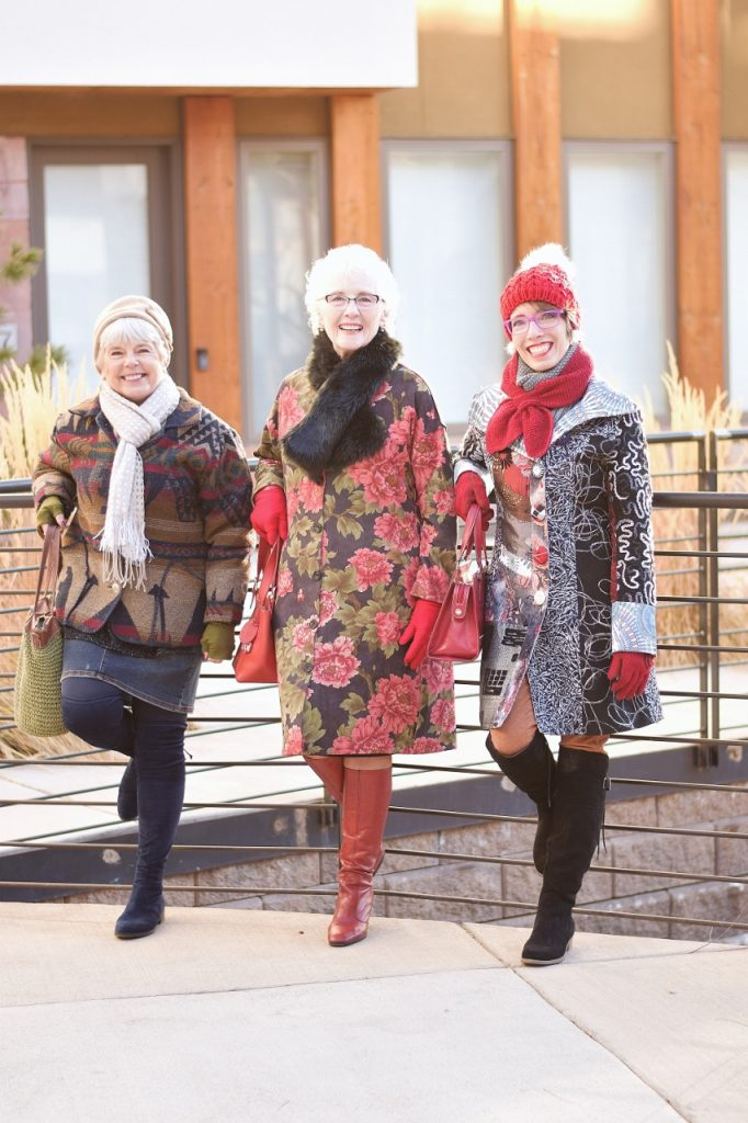 Winter Accessories for Women of 3 different generations