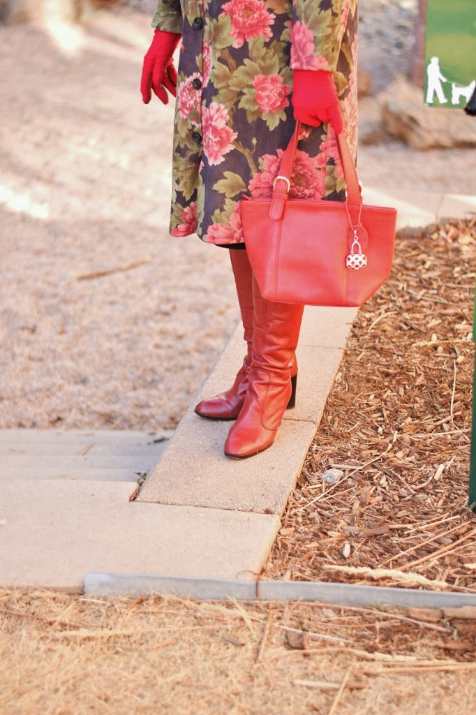 Winter Accessories with red