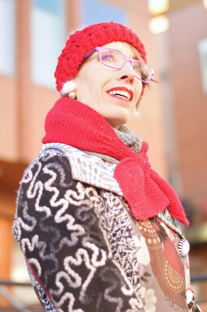 Winter Accessories with hand knit scarves