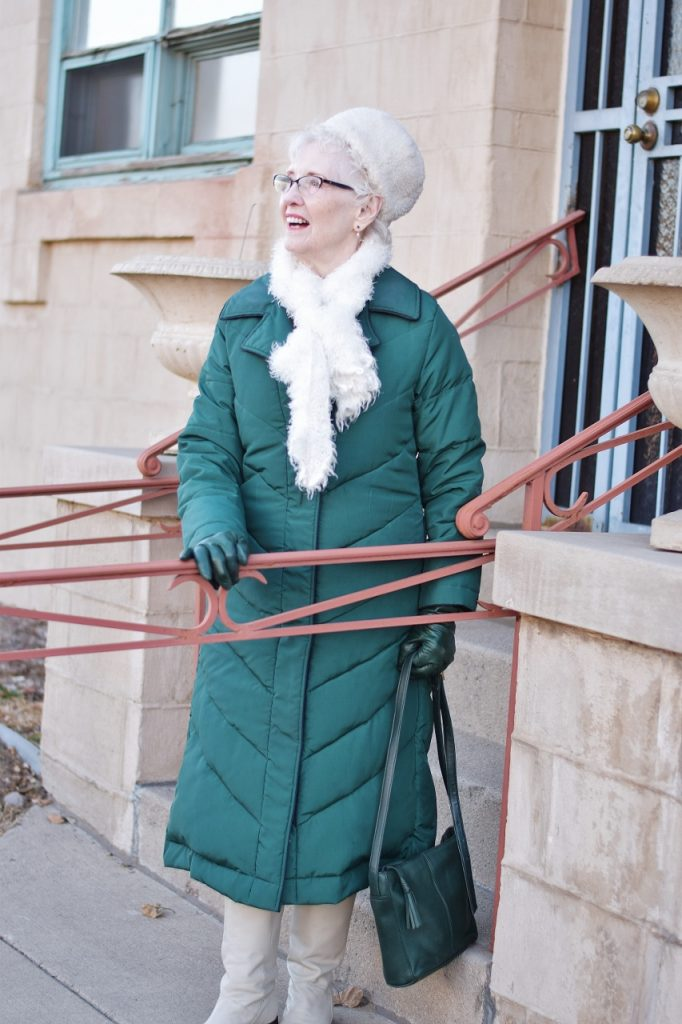 How to style Scarves and gloves with a coat