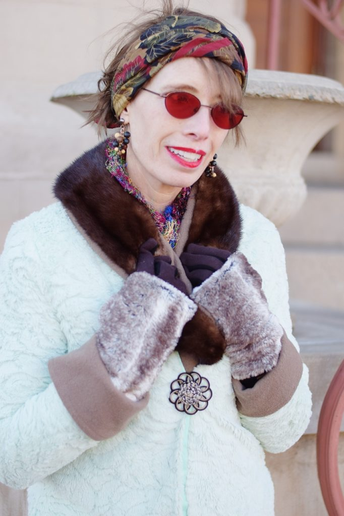 Styling Scarves and gloves in the cold weather
