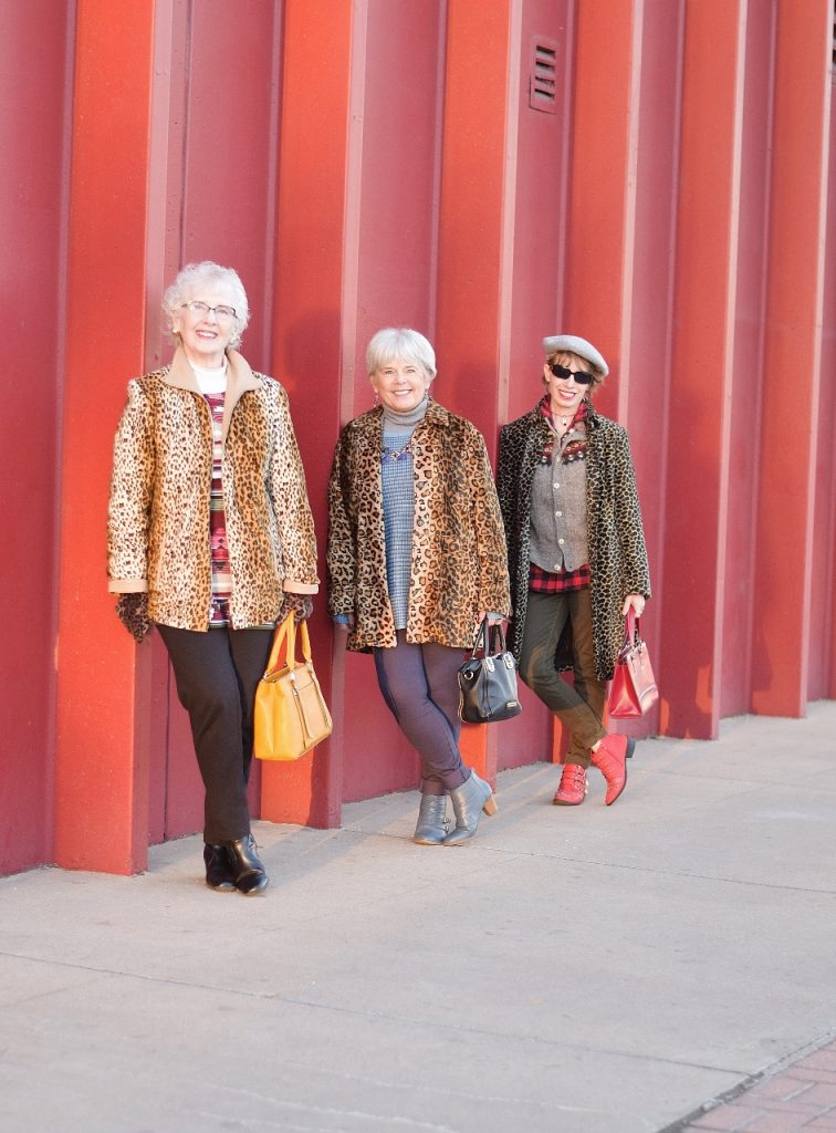 3 Generations of Leopard coats for Women