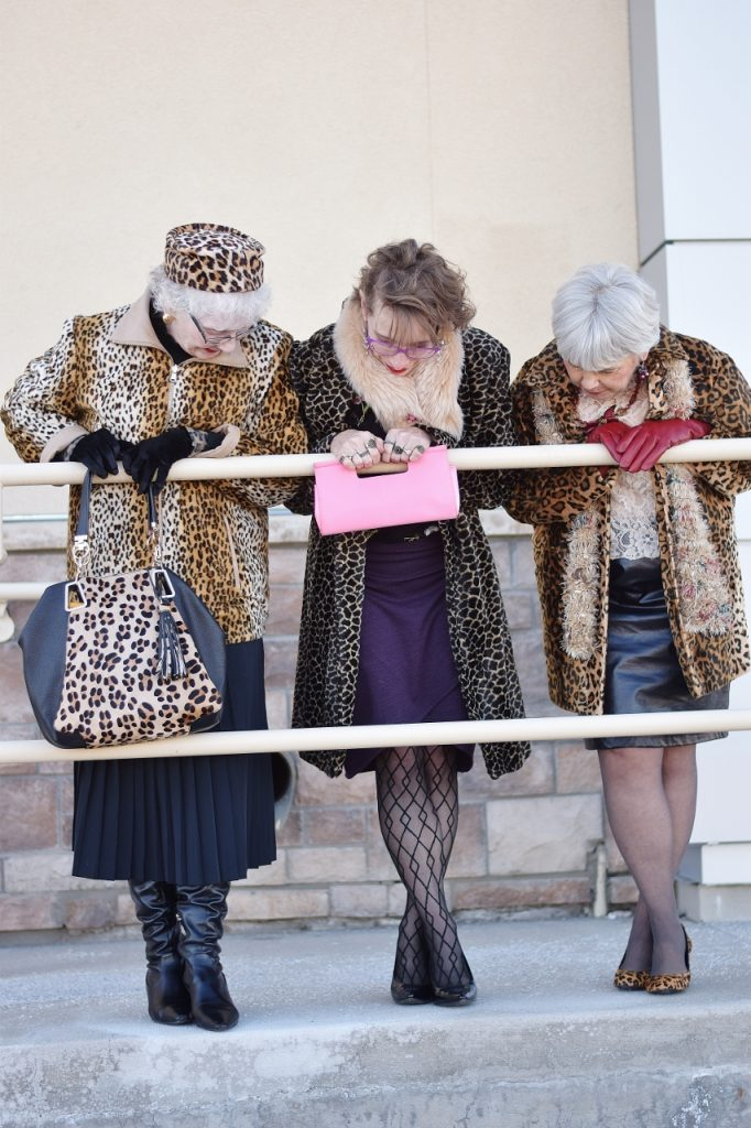 Leopard Coats for women in their 50's, 60's & 70's