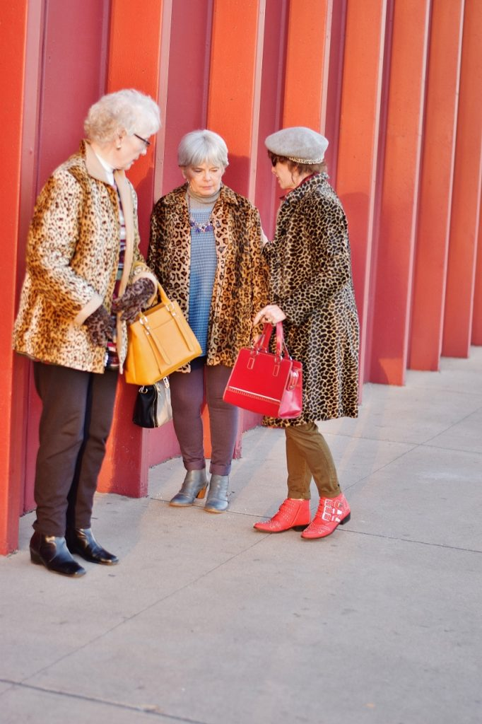 Leopard coats for Women at any age