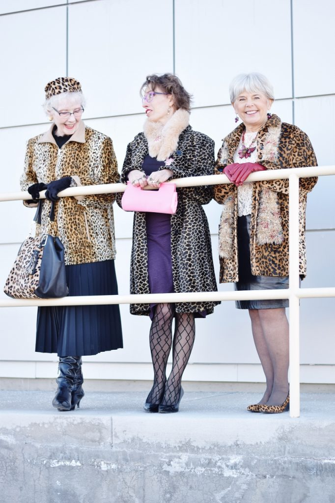 Leopard Coats for women dressed up
