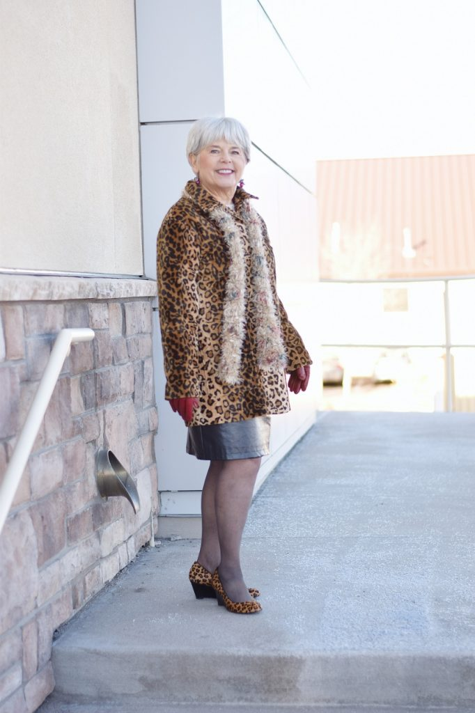 Leopard Coats for a woman in her 60's and beyond