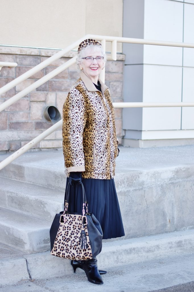 Leopard Coats that are reversible